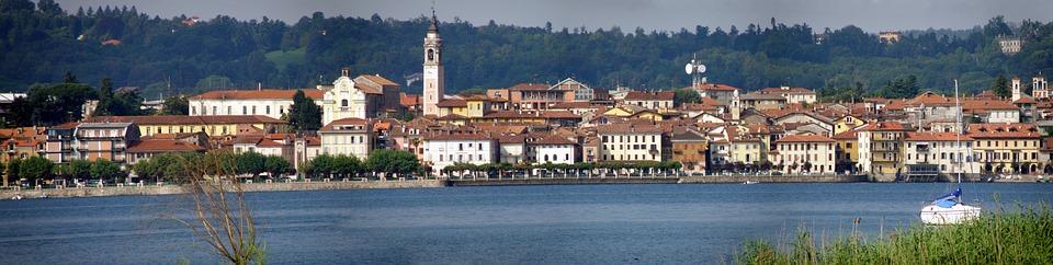 Lago maggiore panoramica